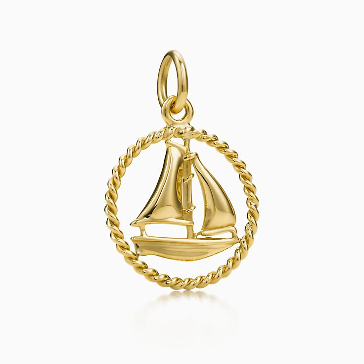 Tiffany Twist:Sailboat Charm