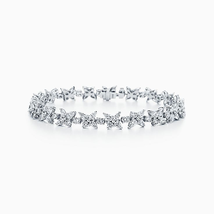 Tiffany Victoria®:Mixed Cluster Bracelet