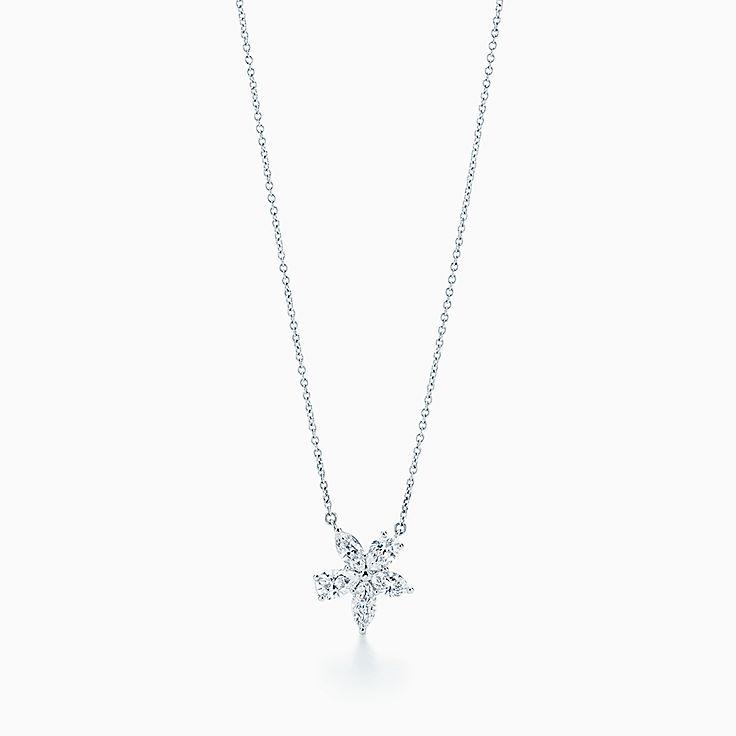 Tiffany Victoria®:Mixed Cluster Pendant