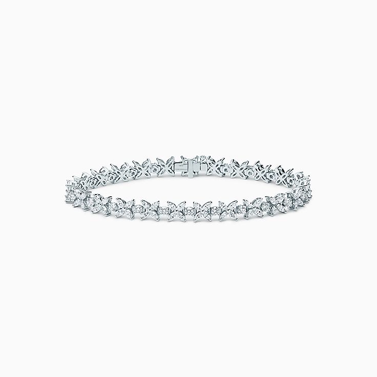 Tiffany Victoria®:Narrow Alternating Bracelet