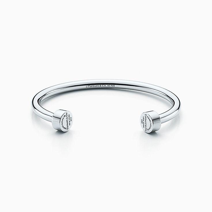 autentica di fabbrica dc44c f1494 Bracciali uomo argento tiffany – Gioielli con diamanti popolari