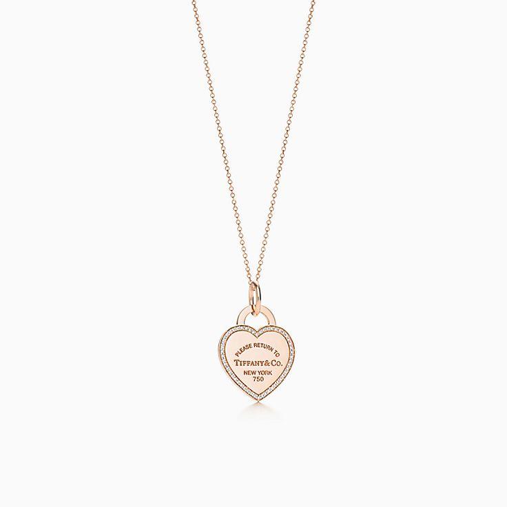 Tiffany Goldkette Mit Herz Modeschmuck