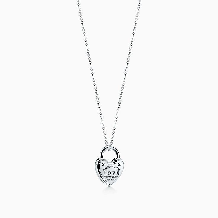 Necklaces for women tiffany co httpsmediatiffanyisimagetiffanyecombrowsemreturn to tiffany love lock charm 62206926986267sv1gopusm100100600defaultimage aloadofball Choice Image