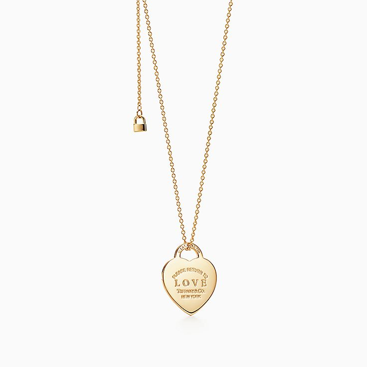 18k gold necklaces pendants tiffany co aloadofball