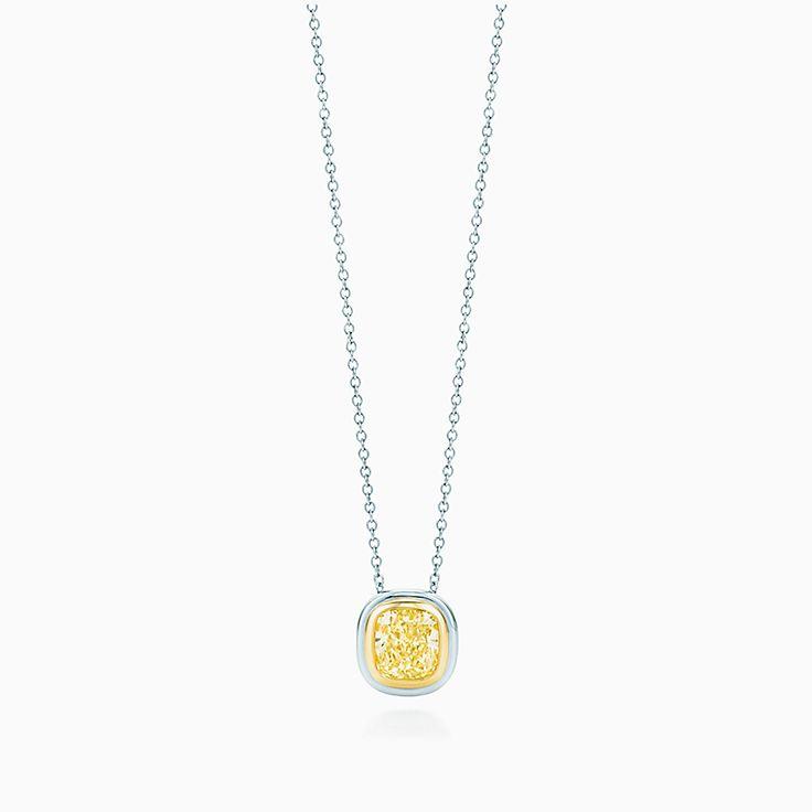 Colored diamond necklaces pendants tiffany co shop palomas graffiti necklaces new new aloadofball Gallery