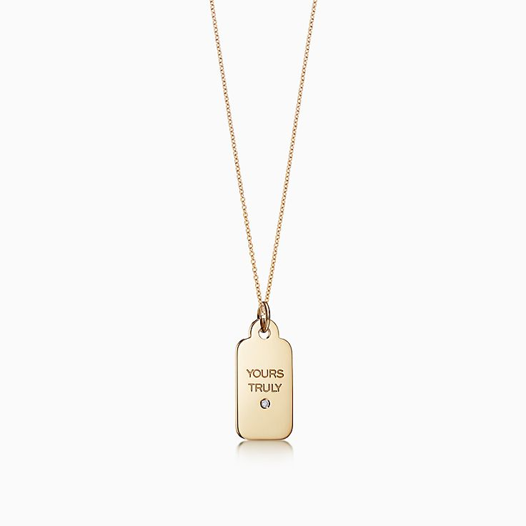 18k gold necklaces pendants tiffany co new audiocablefo