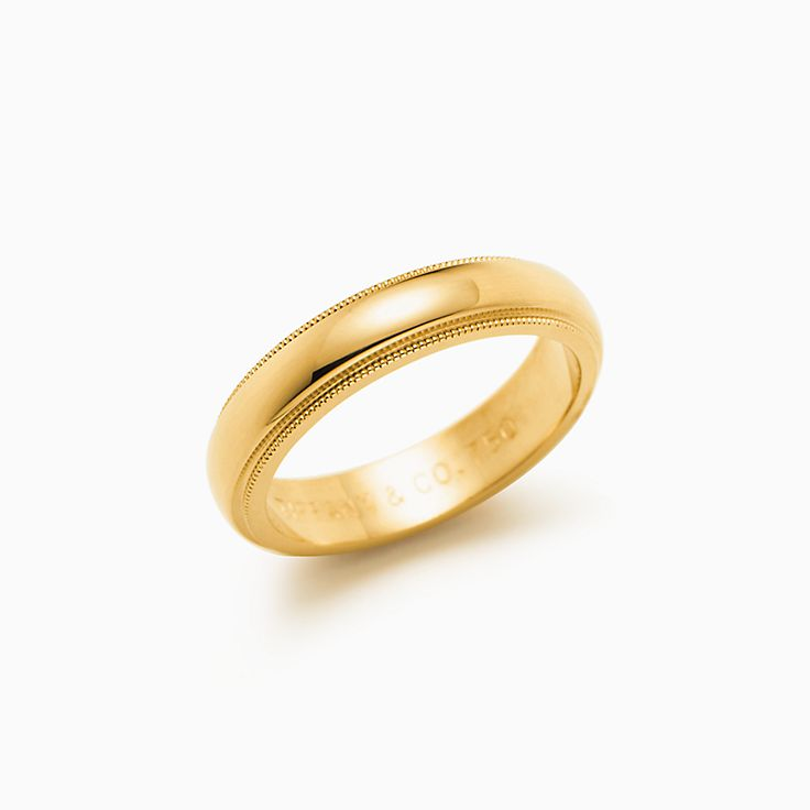 men s ring solid bands for yellow and band wedding itm image is women loading gold him womens mens plain rings