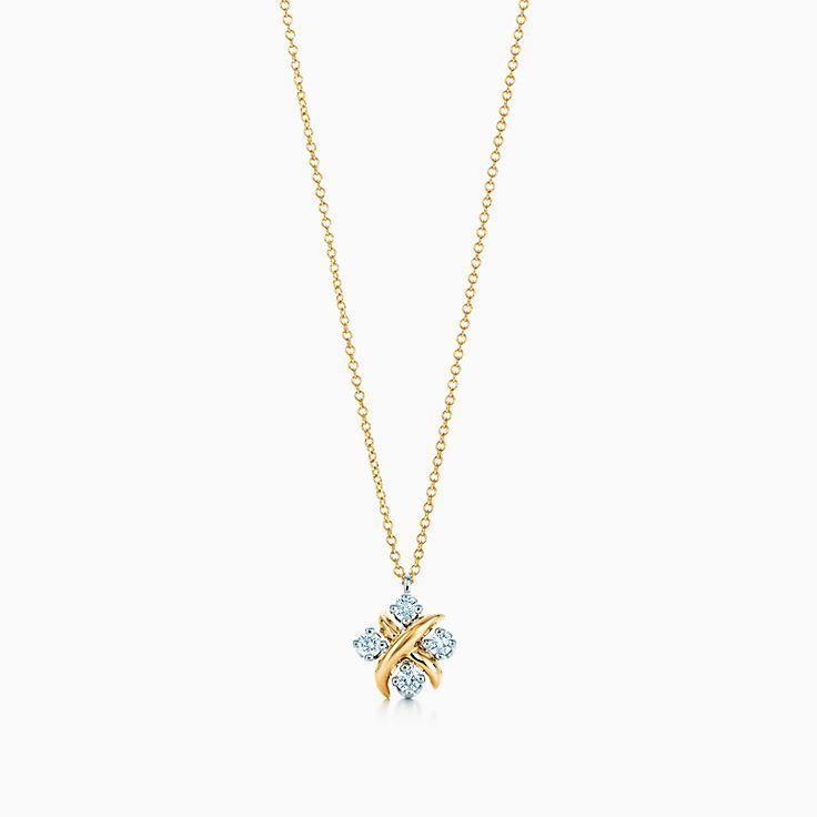 18k gold necklaces pendants tiffany co httpsmediatiffanyisimagetiffanyecombrowsemtiffany co schlumberger lynn pendant 23349833934584sv1gopusm100100600defaultimage aloadofball Choice Image