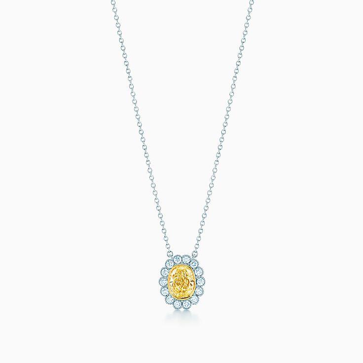 Tiffany yellow diamonds necklaces pendants tiffany co new aloadofball Gallery