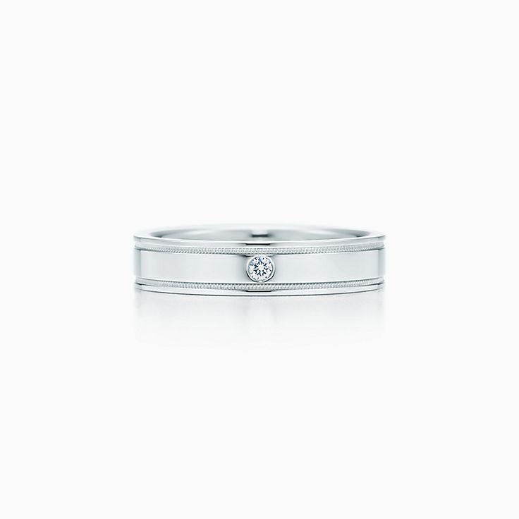 105b8b7f0 Platinum Men S Jewellery Tiffany Co. Platinum Men S Jewellery Tiffany Co.  Tiffany And Co Mens Wedding Bands ...