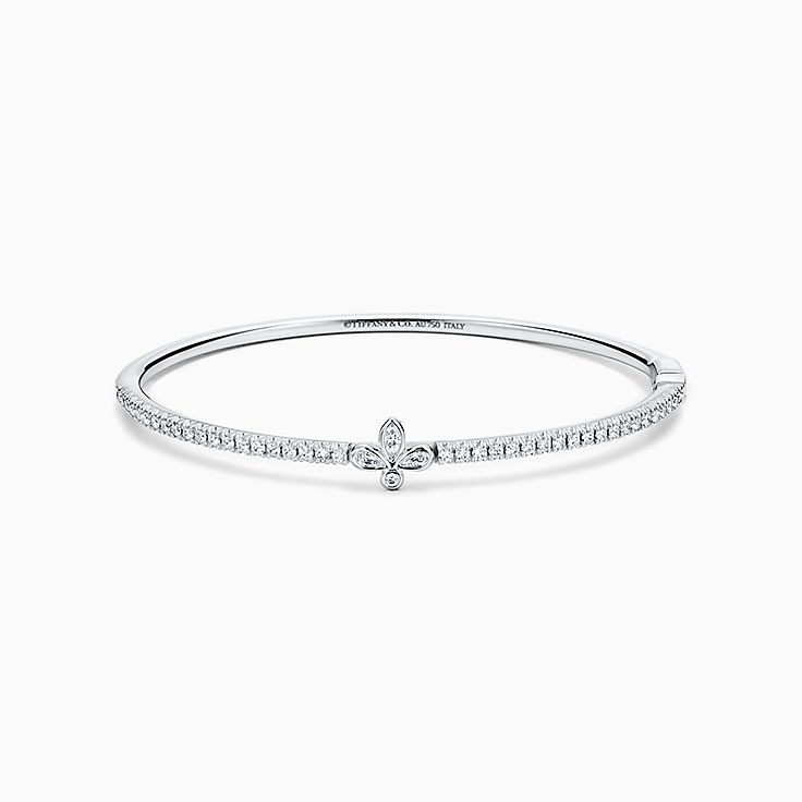 bangle shape d grams ladies solid white gold newburysonline bangles