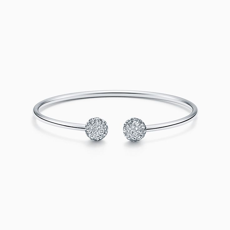 bangle white gold with bangles bracelets for women stylish