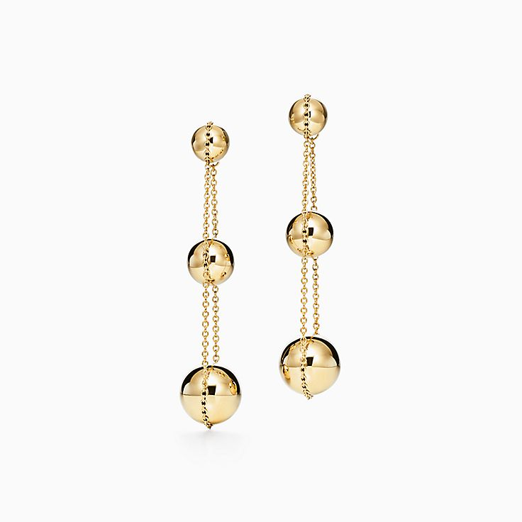 18k Gold Earrings Studs Hoops Tiffany Co