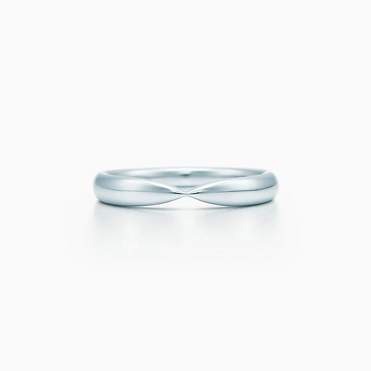 new tiffany harmony wedding band in platinum 3 mm wide - Tiffany Wedding Ring