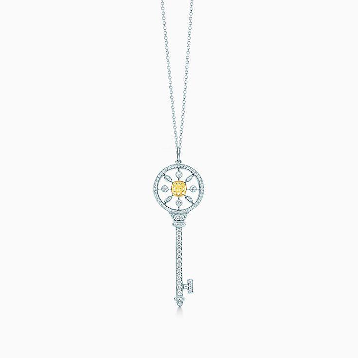 Tiffany yellow diamonds jewelry collection tiffany co new tiffany yellow diamond necklace aloadofball Gallery
