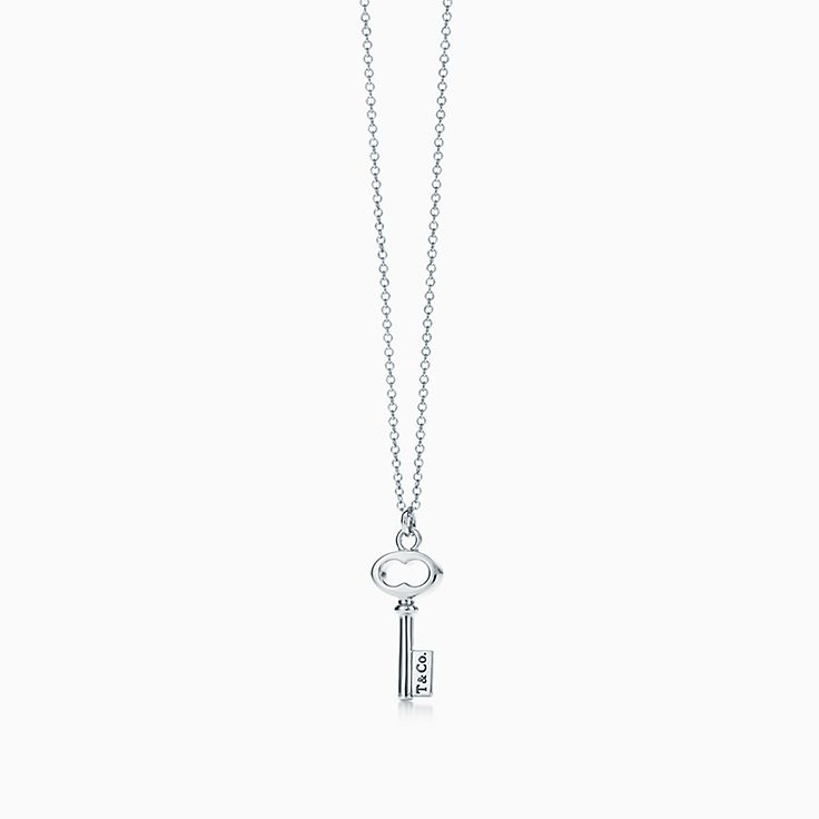 Jewelry 500 under tiffany co tiffany keys tco key pendant in sterling silver mini aloadofball Gallery