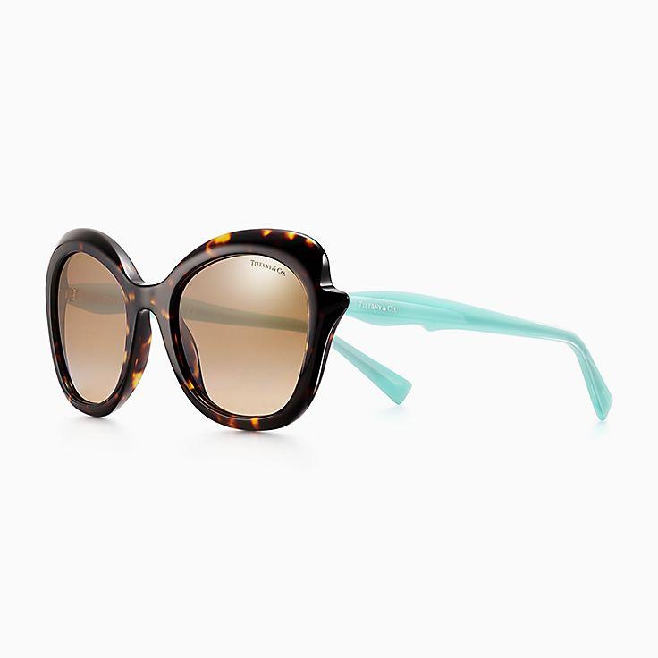a185bd2d794 Tiffany Paper Flowers rectangular sunglasses in acetate.