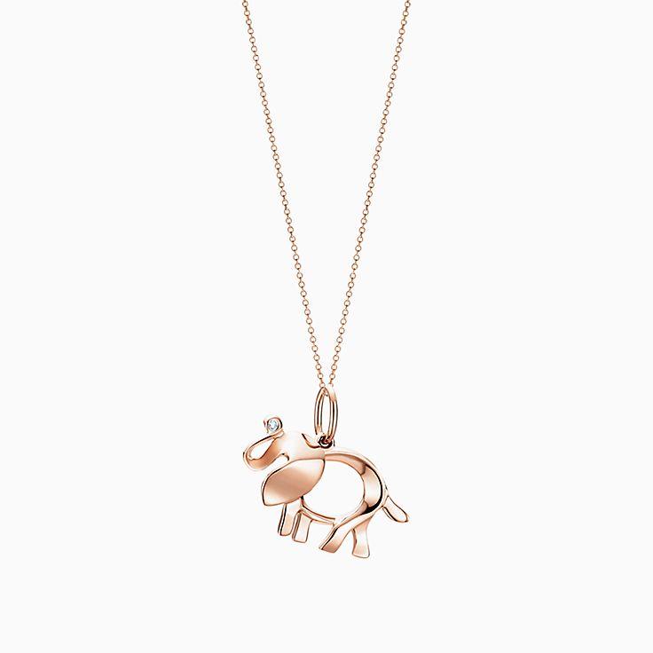 Tiffany Save the Wild elephant charm bracelet in sterling silver, medium Tiffany & Co.