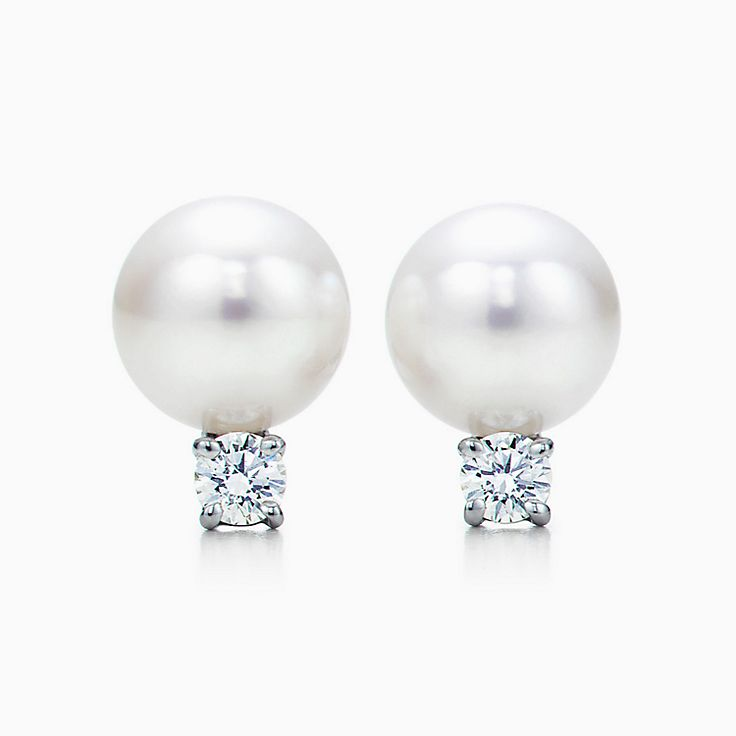 pearl earring south diamond sea earrings pearls index golden aaa