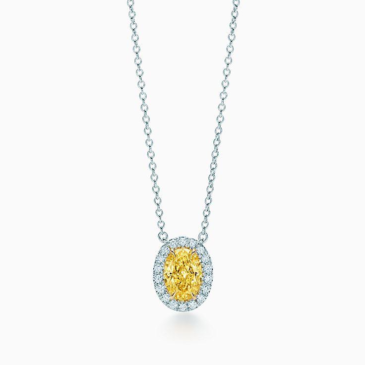 Tiffany yellow diamonds jewelry collection tiffany co new new tiffany yellow diamond necklace aloadofball Gallery