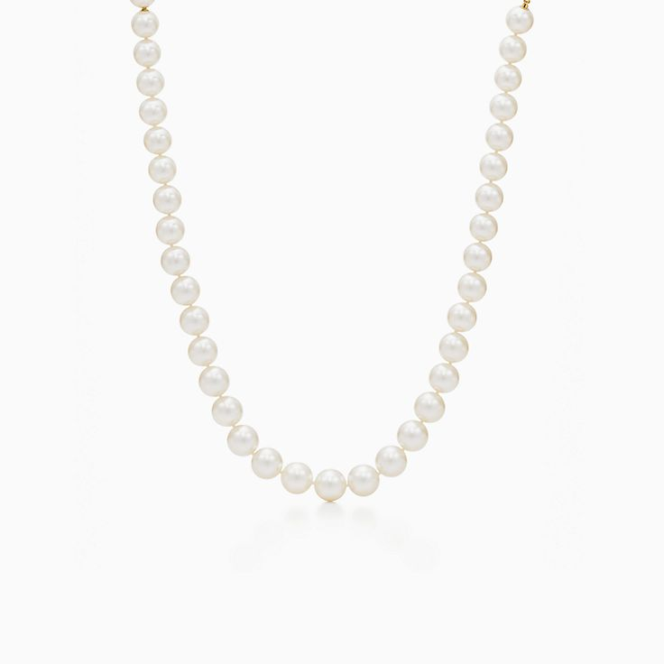 Pearl Jewellery Necklace >> Pearl Jewelry Tiffany Co