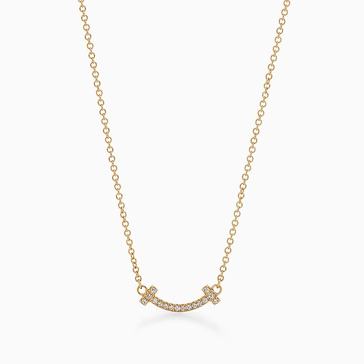18k gold necklaces pendants tiffany co httpsmediatiffanyisimagetiffanyecombrowsemtiffany t smile pendant 62617691986302sv1gopusm100100600defaultimage aloadofball Image collections