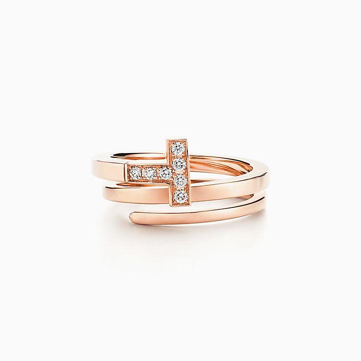 Tiffany Enchant wide ring in Rubedo metal - Size 4 1/2 Tiffany & Co. KG4NwPq4d