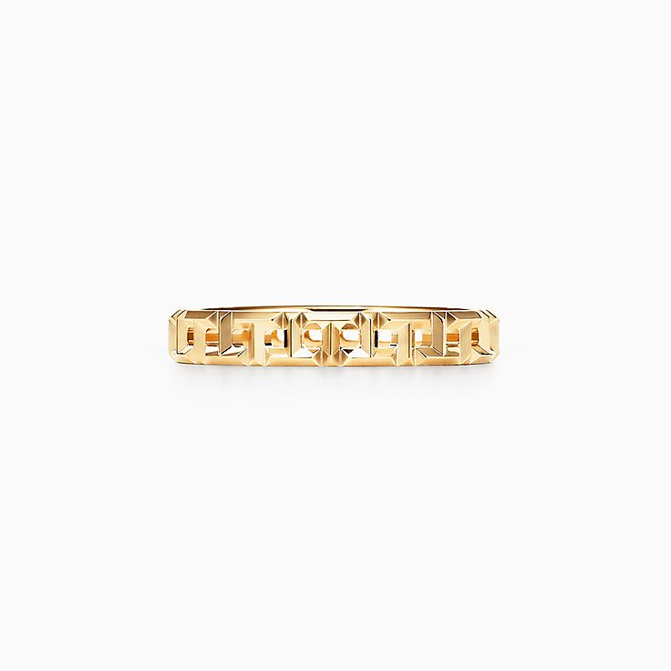 tiffany \u0026 co official luxury jewelry, gifts \u0026 accessories since 1837  tiffany t true narrow ring in 18k gold, 3 5 mm wide