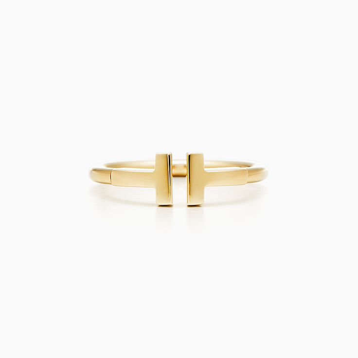 Ringe In Gelbgold Und Weissgold Tiffany Co
