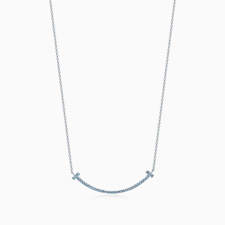 Sparkle smile pendant necklace