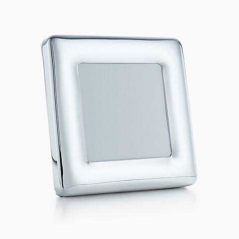 Elsa Peretti® square frame in sterling silver.