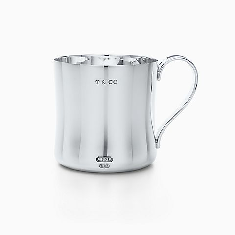 Tiffany 1837® baby cup in sterling silver.
