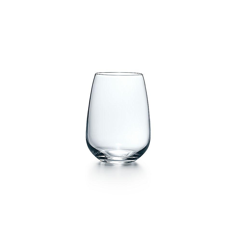 cb96fb1207dc All-purpose white wine stemless glass in handmade