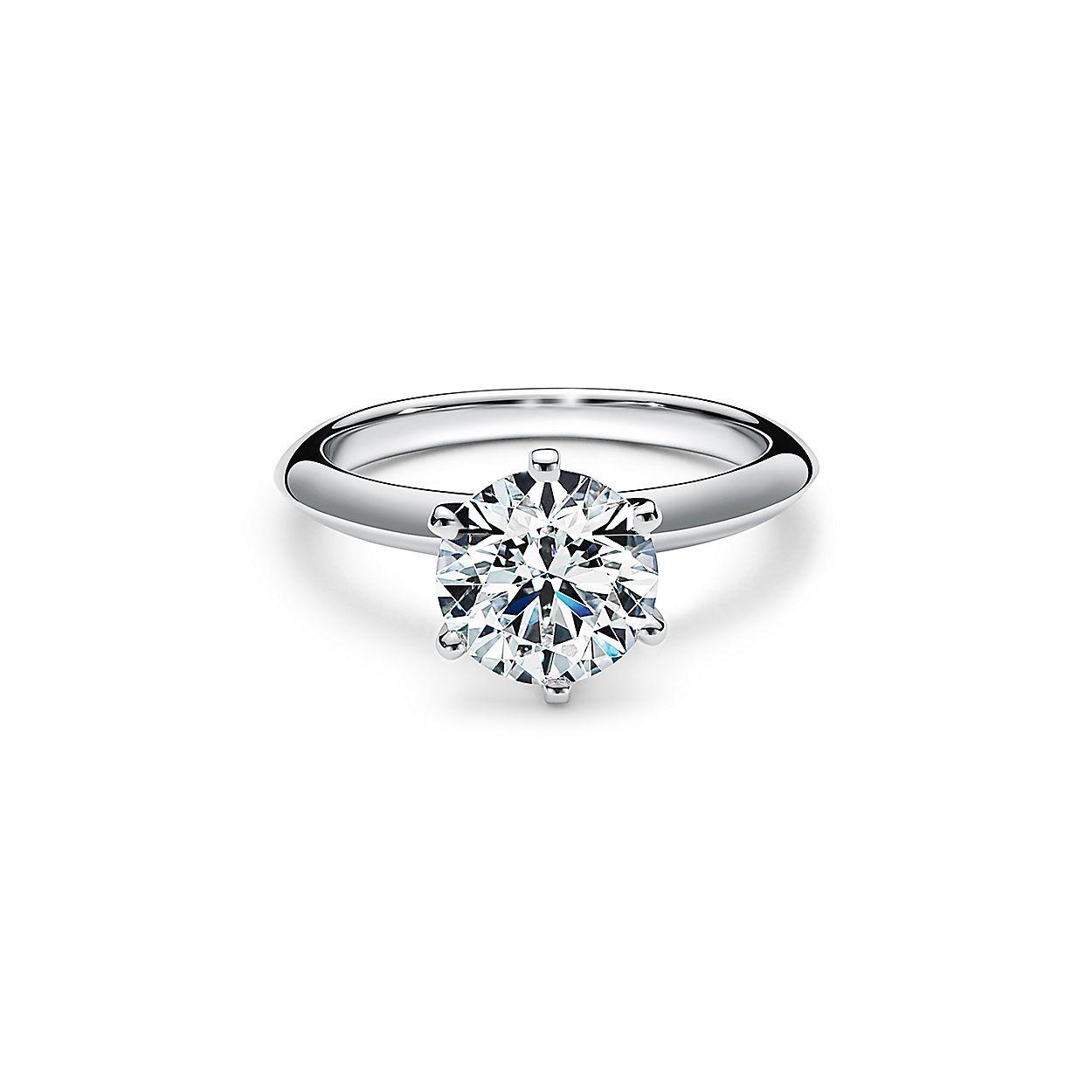 162a0dd60116a Tiffany® Setting em platina  o anel de noivado mais icônico do mundo ...
