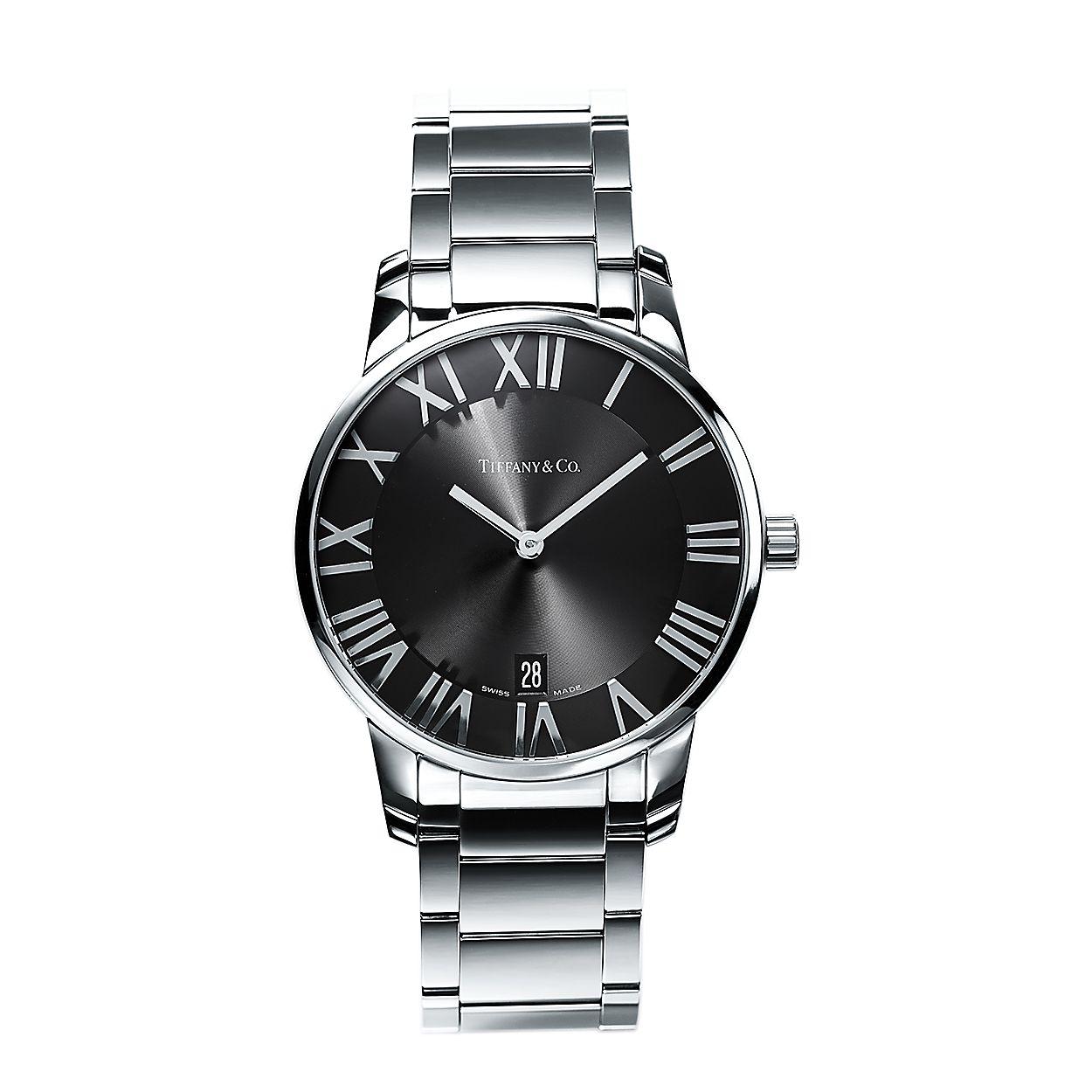 fa12b8c9 Reloj Atlas® de 37,5 mm de dos manecillas en acero inoxidable ...
