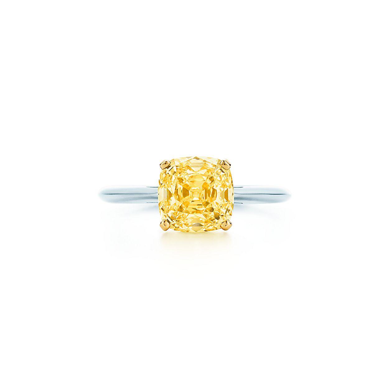 7b0cc65d5c0b3 Classic Single Yellow Diamond Ring