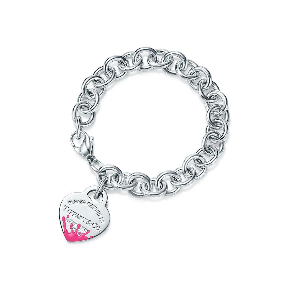 nuovo di zecca 5e119 4b758 Bracciale Heart Tag Color Splash