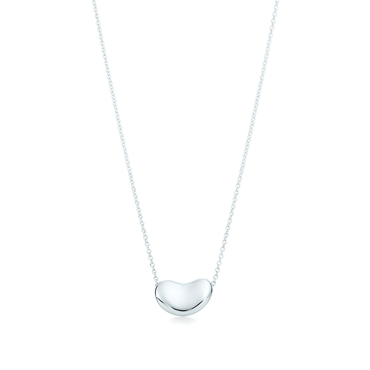 81359a789 Elsa Peretti® Bean Design® pendant in sterling silver. | Tiffany & Co.