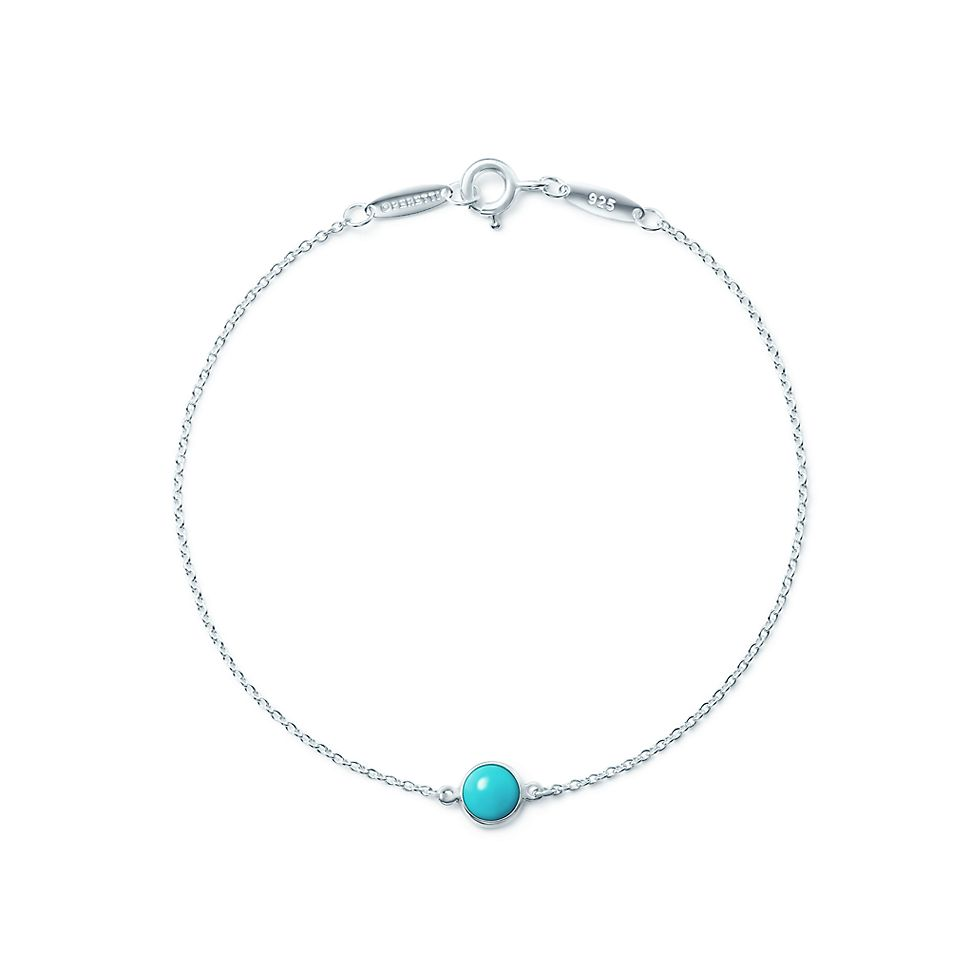 47eb5c2149eb Elsa Peretti® Color by the Yard bracelet in sterling silver with turquoise.