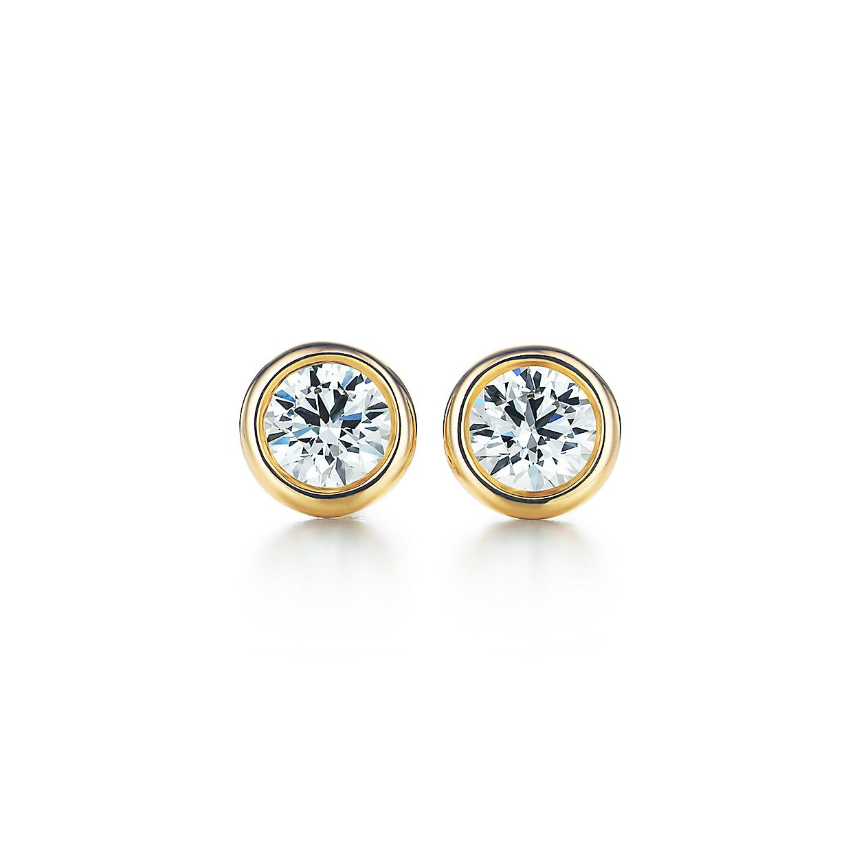 662669adb Elsa Peretti® Diamonds by the Yard® earrings in 18k gold.   Tiffany ...