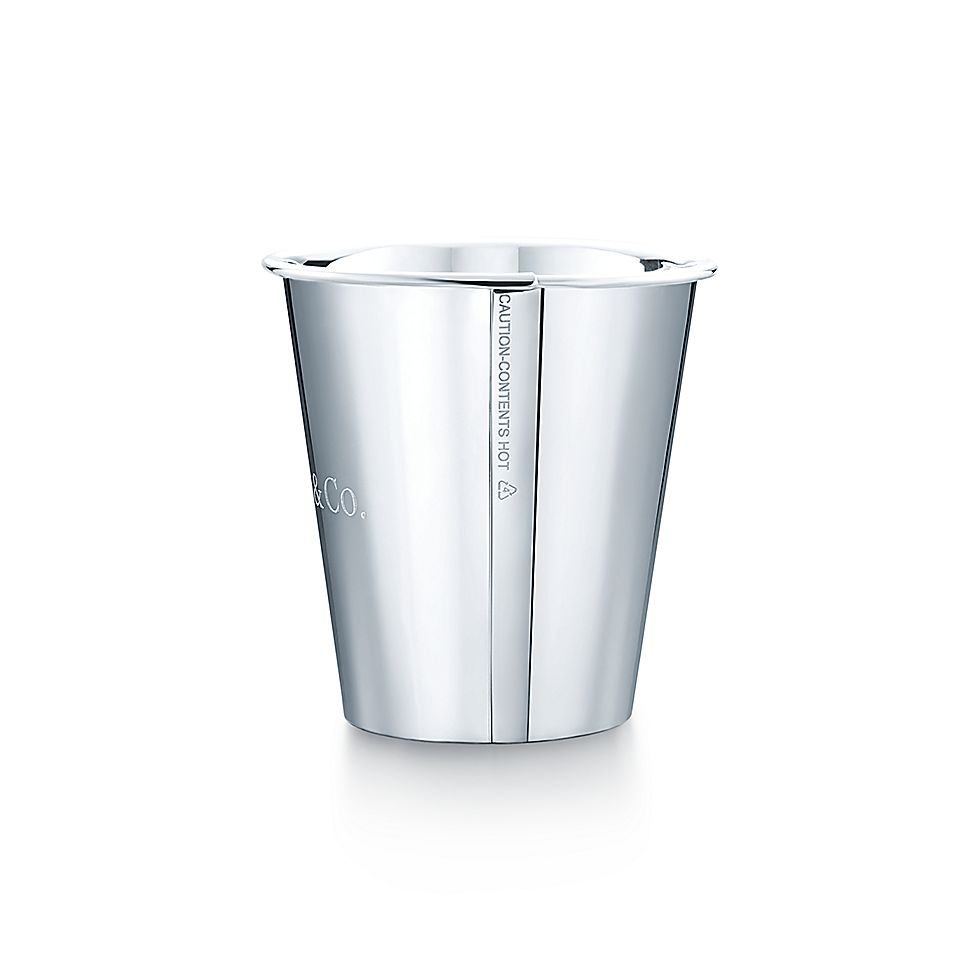 Sterling Silver Paper Cup