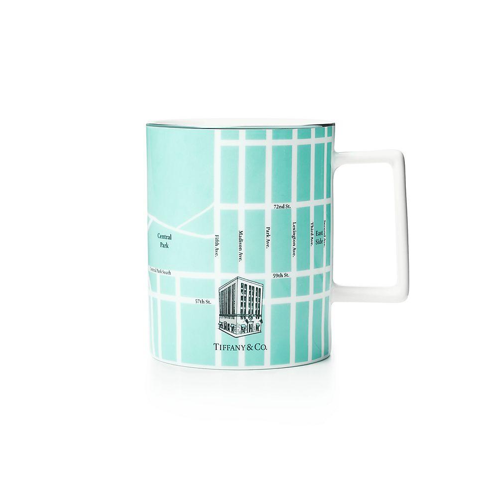 New York Subway Map Drinking Glass 16oz.Manhattan Map Mug