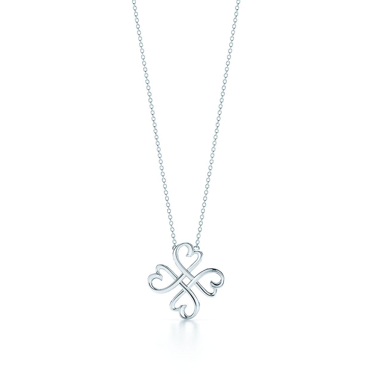 a22e9e6ba Paloma Picasso® Loving Heart pendant in sterling silver.   Tiffany & Co.