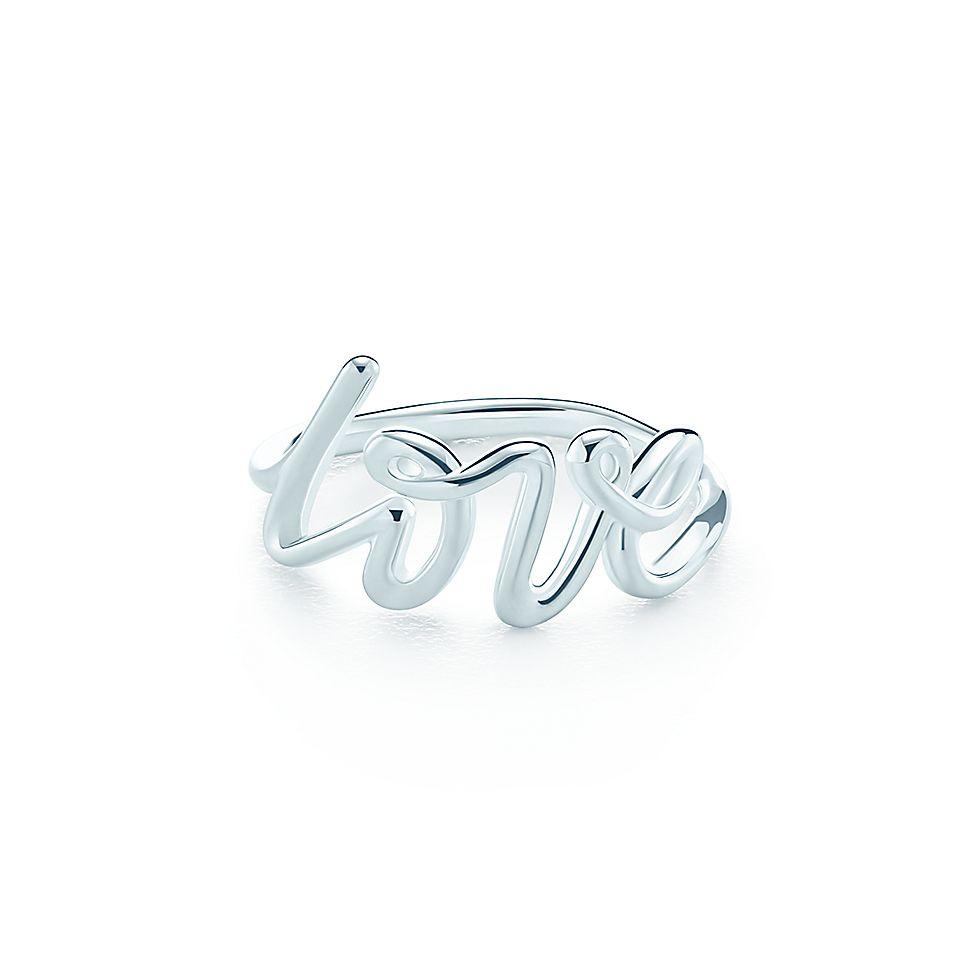 nuevo estilo fbb2a 62053 anillo Love