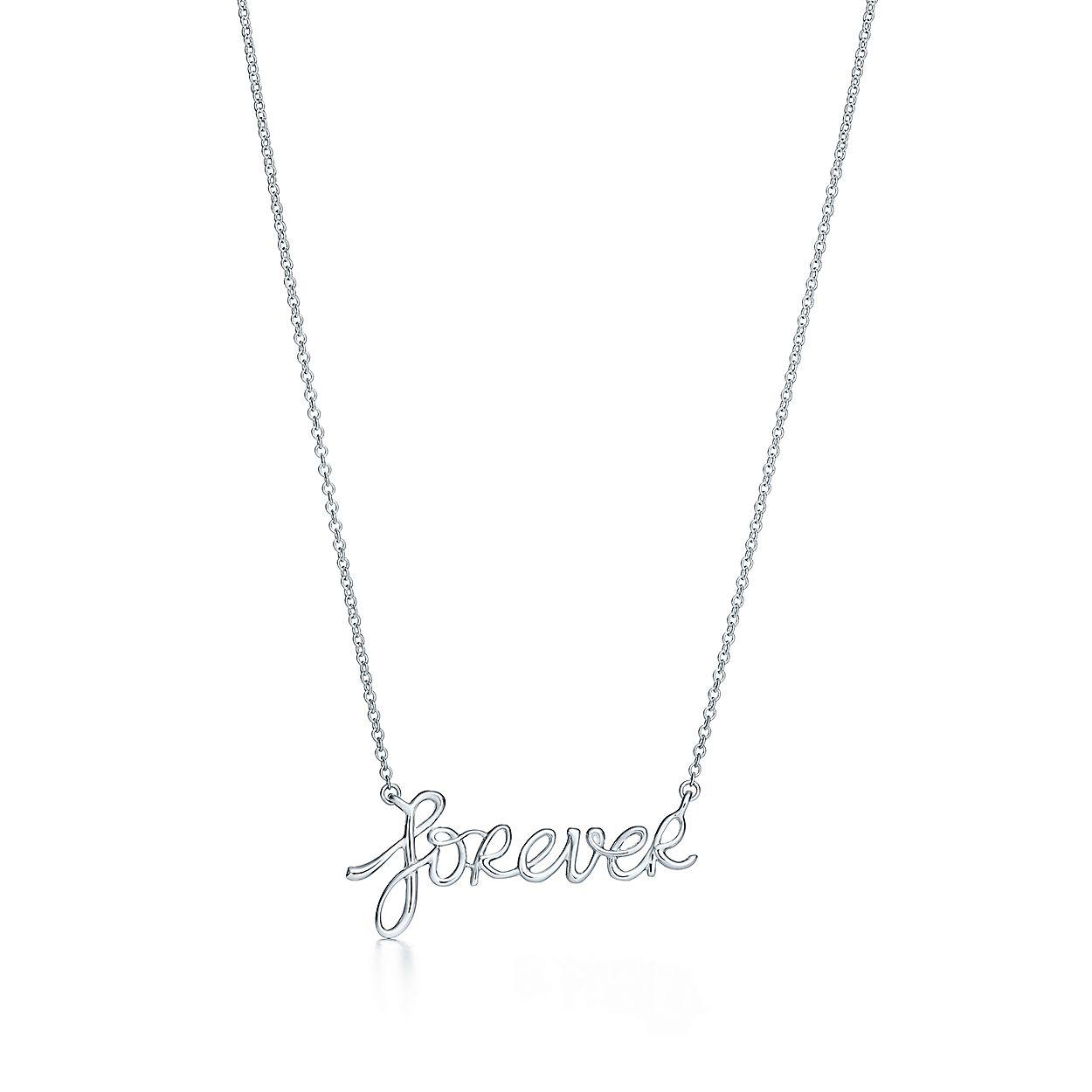 2edbcd889 Paloma's Graffiti forever pendant in sterling silver. | Tiffany & Co.