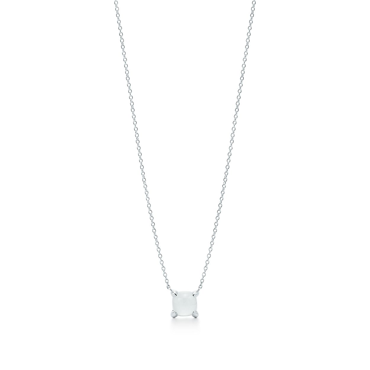 8784a2545 Paloma's Sugar Stacks pendant in sterling silver with a milky quartz ...