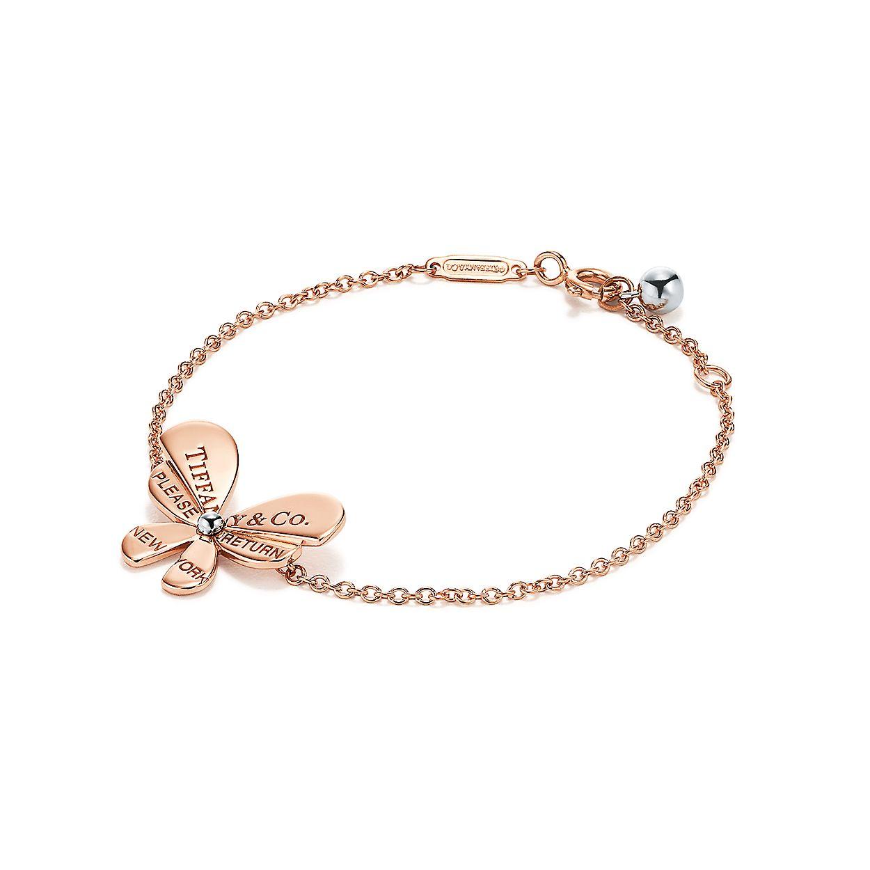 d8b6e7441 Tiffany Butterfly Charm Bracelet - Best Image Of Butterfly Imagevet.Co