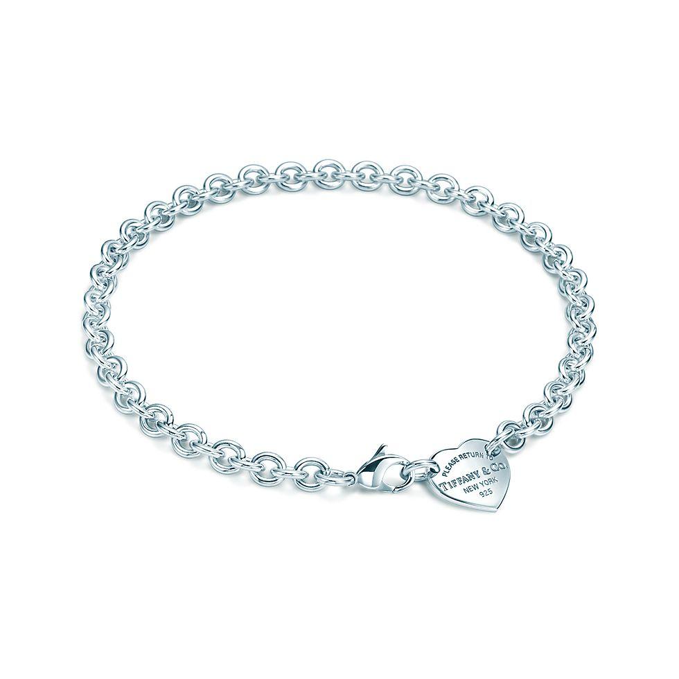 91d871e4e252c Return to Tiffany® heart tag choker in sterling silver.