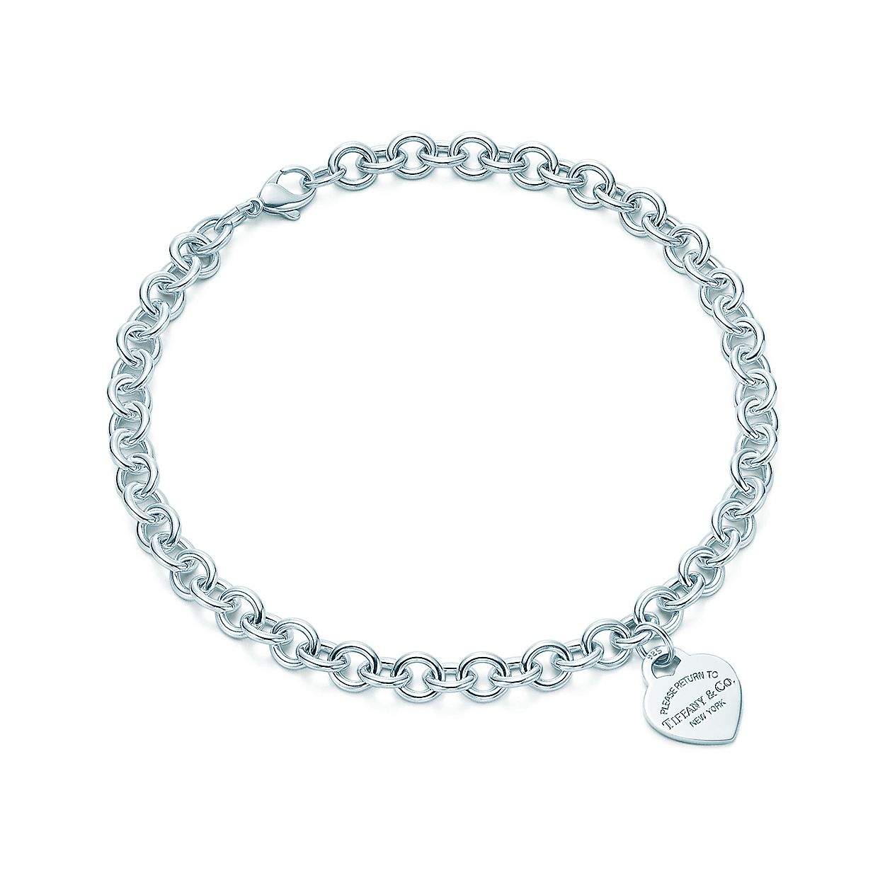 aeab00fbe Return to Tiffany® heart tag necklace in sterling silver. | Tiffany ...