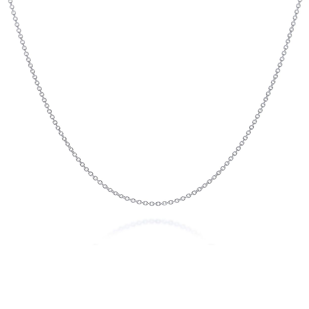 663be4f20 Shop Sterling Silver Chain Necklace | Tiffany & Co.